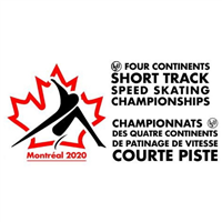 2020 Four Continents Short Track Speed Skating Championships Logo