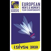 2020 European Team Badminton Championships Logo