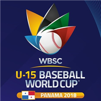 2018 U-15 Baseball World Cup Logo