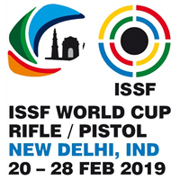 2019 ISSF Shooting World Cup Rifle / Pistol Logo