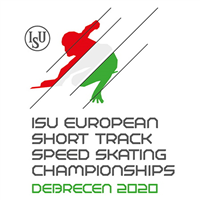 2020 European Short Track Speed Skating Championships Logo