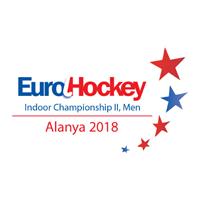 2018 EuroHockey Indoor Championship Men II Logo
