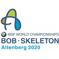2020 World Bobsleigh Championships 4-Man Logo