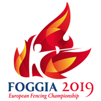 2019 Fencing Cadet And Junior European Championships Logo