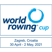 2021 World Rowing Cup - I Logo