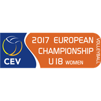 2017 European Volleyball Championship U18 Women Logo
