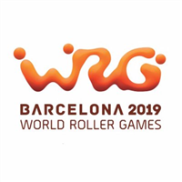 2019 World Roller Games Logo