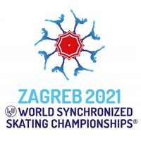 2021 World Synchronized Skating Championships Logo