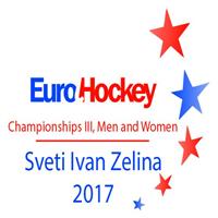 2017 EuroHockey Championships III Men Logo