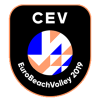 2019 Beach Volleyball European Championships Logo