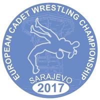 2017 European Cadet Wrestling Championship Logo