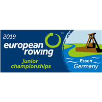 2019 European Rowing Junior Championships Logo