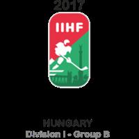 2017 Ice Hockey U20 World Championship Division I B Logo