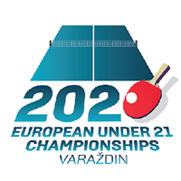2020 European Table Tennis U21 Championships Logo