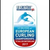 2017 European Curling Championships Logo