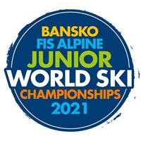 2021 FIS Junior World Alpine Skiing Championships - Women Logo