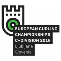 2016 European Curling Championships Division C Logo