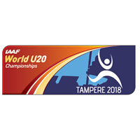 2018 IAAF Athletics World U20 Championships Logo