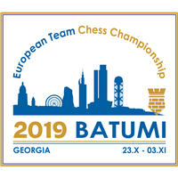 2019 European Team Chess Championship Logo