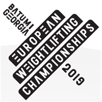 2019 European Weightlifting Championships Logo