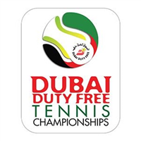 2019 Tennis ATP Tour Dubai Duty Free Tennis Championships Logo