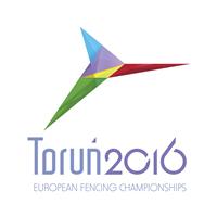 2016 European Fencing Championships Logo
