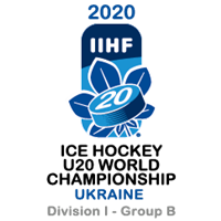 2020 Ice Hockey U20 World Championship Division I B Logo