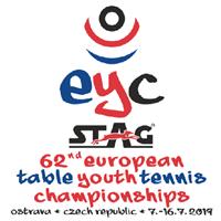 2019 European Table Tennis Youth Championships Logo