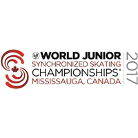 2017 World Junior Synchronized Skating Championships Logo