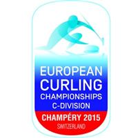 2015 European Curling Championships Division C Logo