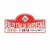 2018 World Rally Championship Rally Italia Sardegna Logo