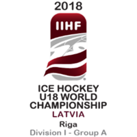 2018 Ice Hockey U18 World Championship Division I A Logo