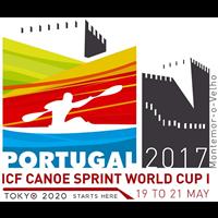 2017 Canoe Sprint World Cup Logo
