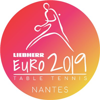 2019 European Table Tennis Championships Logo