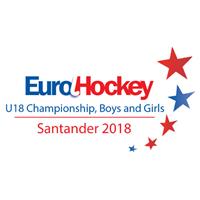 2018 EuroHockey U18 Championships Logo