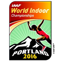 2016 IAAF World Indoor Championships Logo