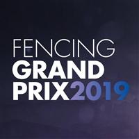 2019 Fencing Grand Prix Sabre Logo