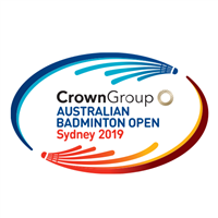 2019 BWF Badminton World Tour Australian Open Logo