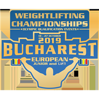 2019 European Junior Weightlifting Championships Logo
