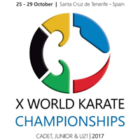 2017 Karate Junior World Championships Logo