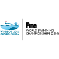 2016 World Swimming Championships 25 m Logo