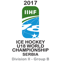 2017 Ice Hockey U18 World Championship Division II B Logo
