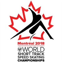 2018 World Short Track Speed Skating Championships Logo