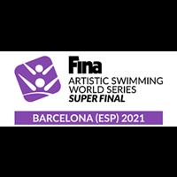 2021 Artistic Swimming World Series - Super Final Logo