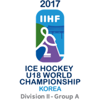 2017 Ice Hockey U18 World Championship Division II A Logo