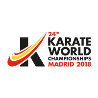 2018 Karate World Championships Logo