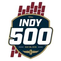 2019 IndyCar Indy 500 Logo