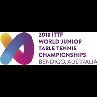 2018 World Table Tennis Junior Championships Logo