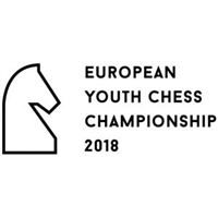 2018 European Youth Chess Championship Logo