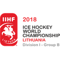 2018 Ice Hockey World Championship Division I B Logo